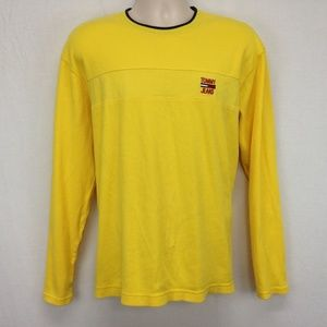 Vintage Tommy Hilfiger Long Sleeve Yellow Shirt